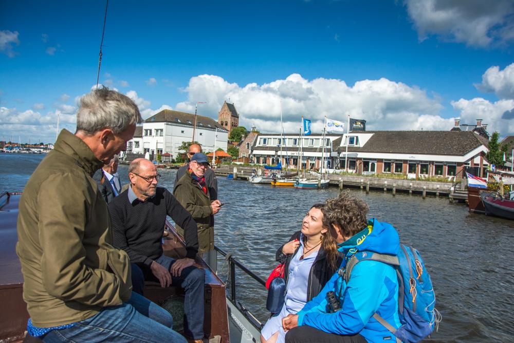 DG Mare neemt polshoogte bij Decentraal Aalbeheer in Friesland