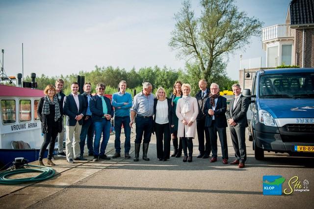 Delegatie Economische Zaken bezoekt netVISwerk