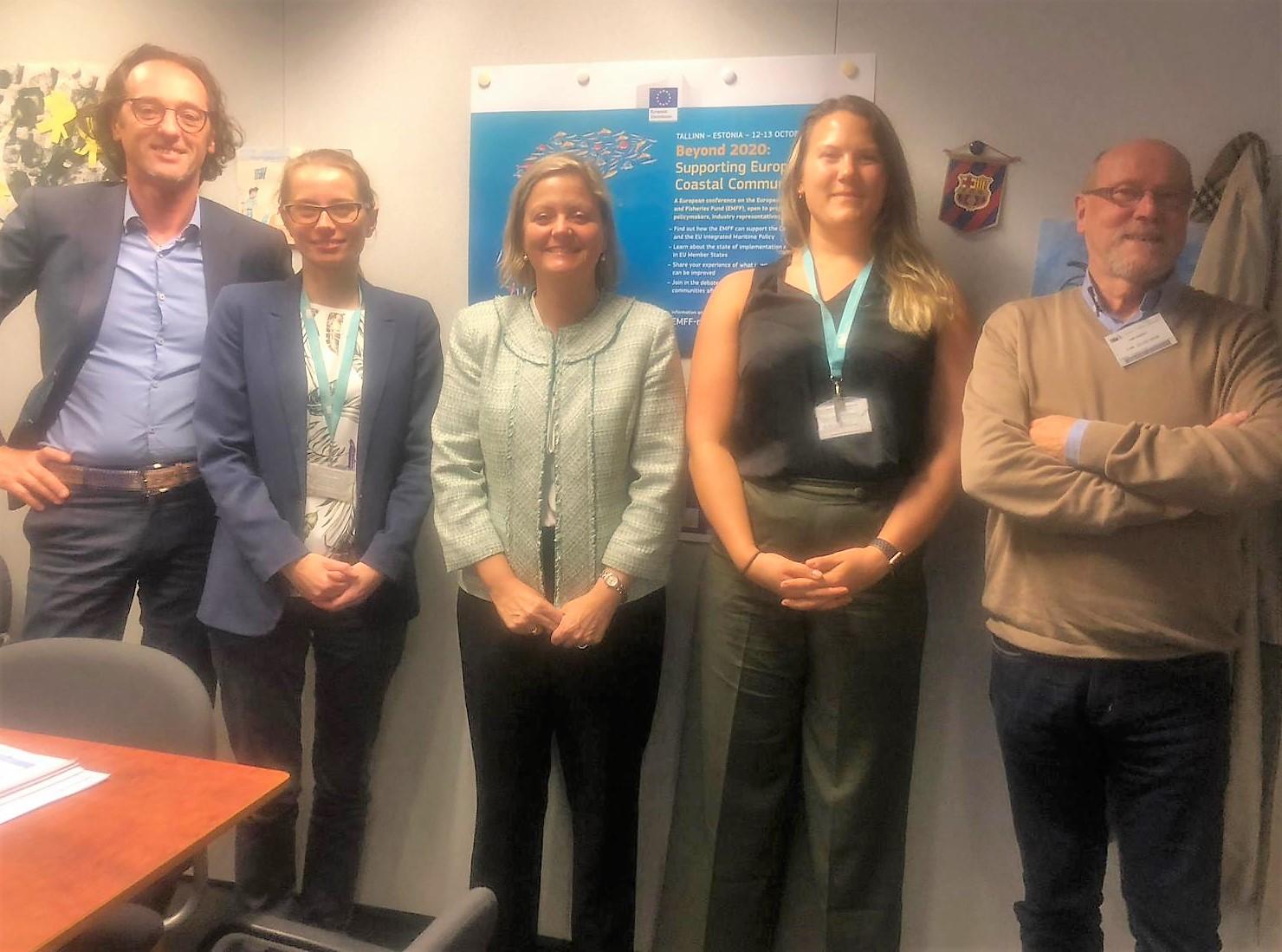 NetVISwerk op bezoek bij Europese Commissie
